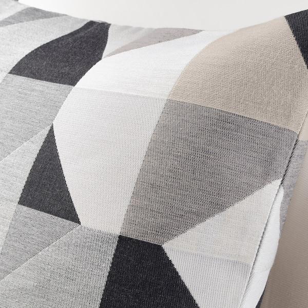 SVARTHÖ غطاء وسادة, بيج, 50x50 سم