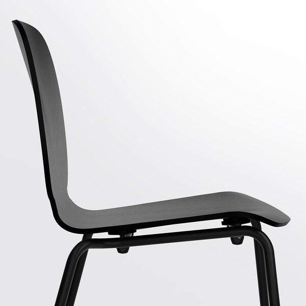 SVENBERTIL كرسي, أسود/Broringe أسود