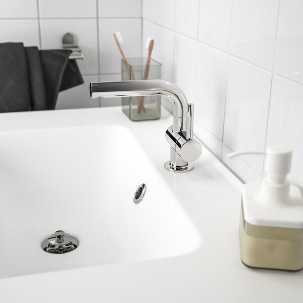 SVENSKÄR wash-basin mixer tap with strainer chrome-plated 15 cm