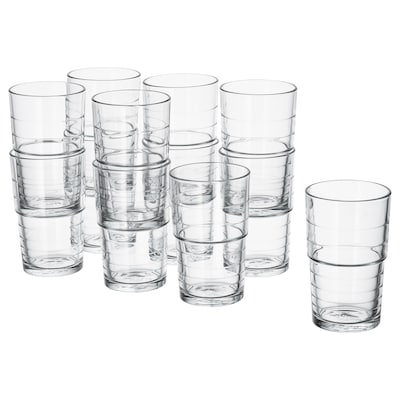 SVEPA كأس, زجاج شفاف, 31 سل
