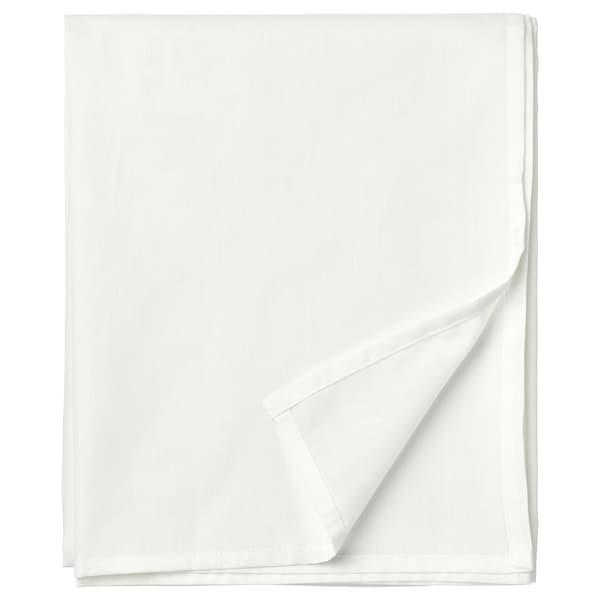 TAGGVALLMO Sheet, white, 150x250 cm