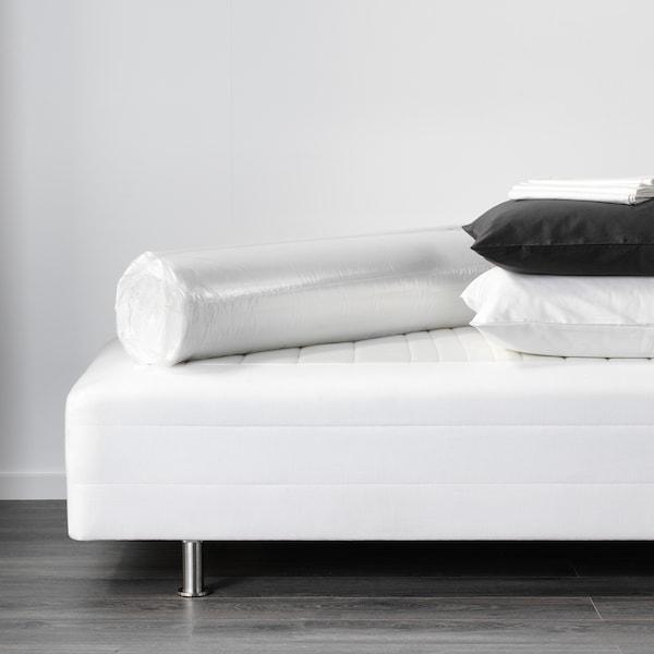 TALGJE Mattress pad, white, 90x200 cm