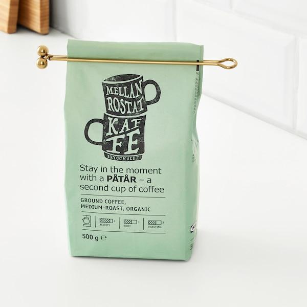 TEMPERERAD مقياس قهوة وملقط, نحاس أصفر