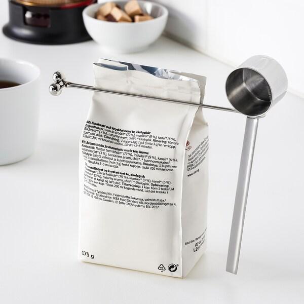 TEMPERERAD مقياس قهوة وملقط, ستينلس ستيل