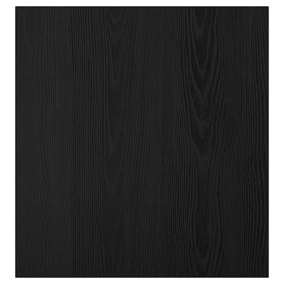 TIMMERVIKEN باب, أسود, 60x64 سم