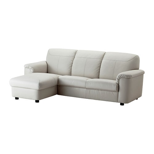 Timsfors two seat sofa with chaise longue mjuk kimstad - Chaise longue exterieur ikea ...