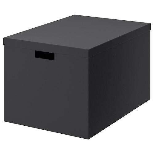 ايكيا TJENA صندوق تخزين مع غطاء