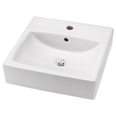 TÖRNVIKEN حوض سطحي, أبيض, 45x45 سم