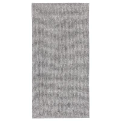 TOFTBO دعّاسة للحمّام, رمادي-أبيض خليط, 60x120 سم