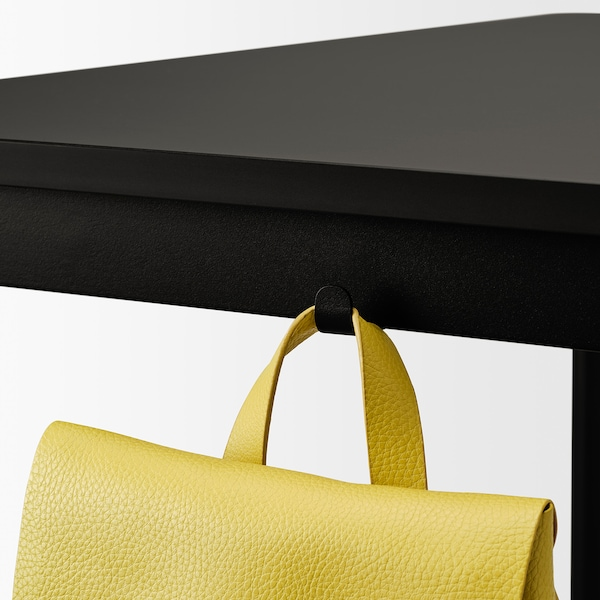 TOMMARYD Table, anthracite, 130x70x105 cm