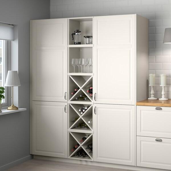 TORNVIKEN Shelf, off-white, 40x37x40 cm