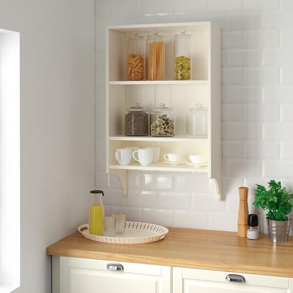 TORNVIKEN Wall shelf, off-white, 60x100 cm