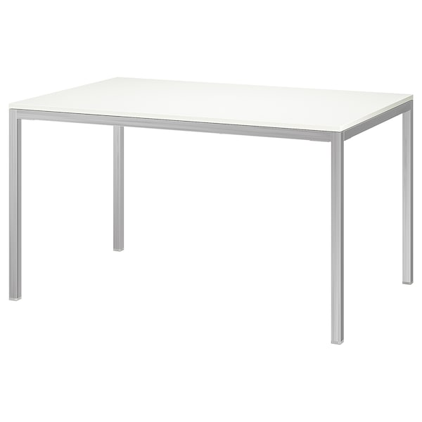 Torsby Table Chrome Plated High Gloss White Ikea
