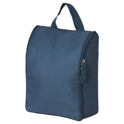 TROLLFJORDEN Toiletry bag, dark blue