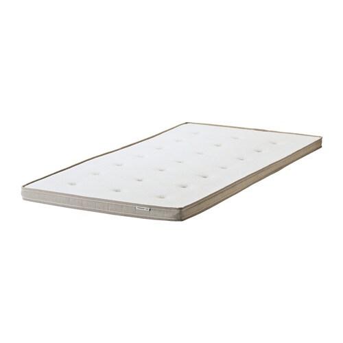 TROMSDALEN Mattress pad, natural colour