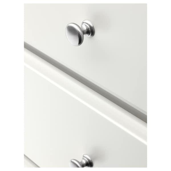 TYSSEDAL خزانة بـ 4 أدراج, أبيض, 87x76 سم
