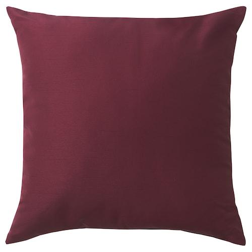 ULLKAKTUS cushion dark red 50 cm 50 cm 300 g 370 g