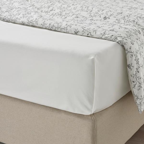 ULLVIDE Sheet, white, 150x260 cm