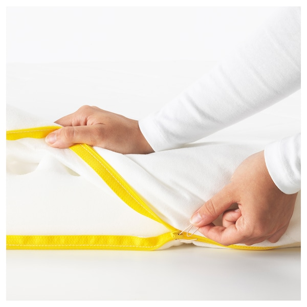 UNDERLIG Foam mattress for junior bed, white, 70x160 cm
