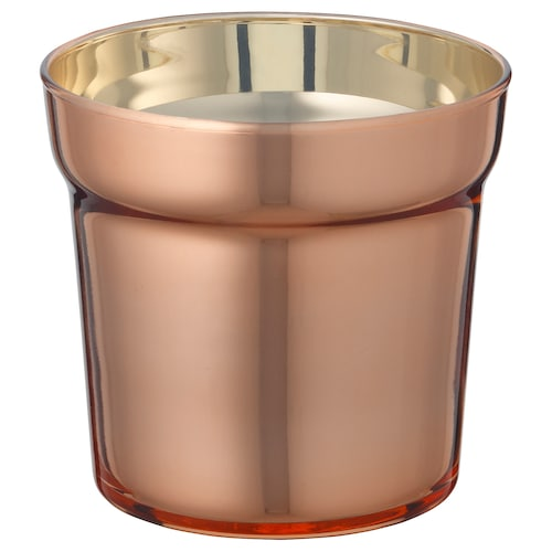 UPPGJORD plant pot copper-colour 10 cm