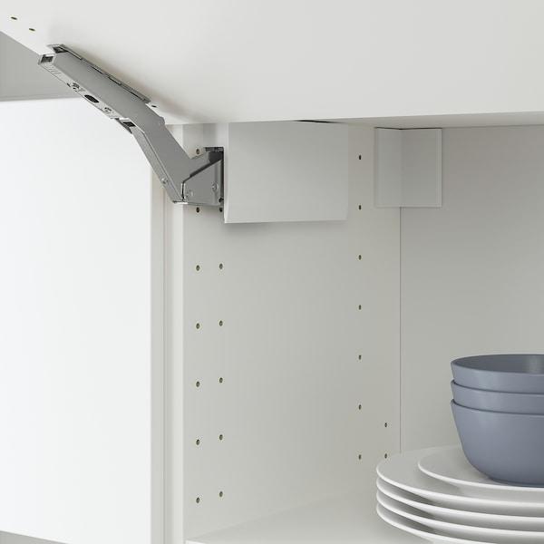 UTRUSTA مفصلة مع مخمد لباب أفقي, أبيض