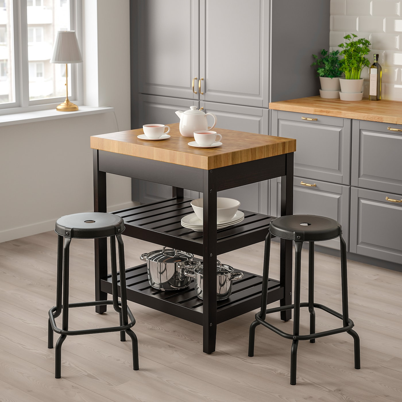 Kitchen Island Black Oak Online Ikea