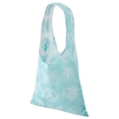 VÄNSKAPLIG Bag, turquoise, 40x70 cm