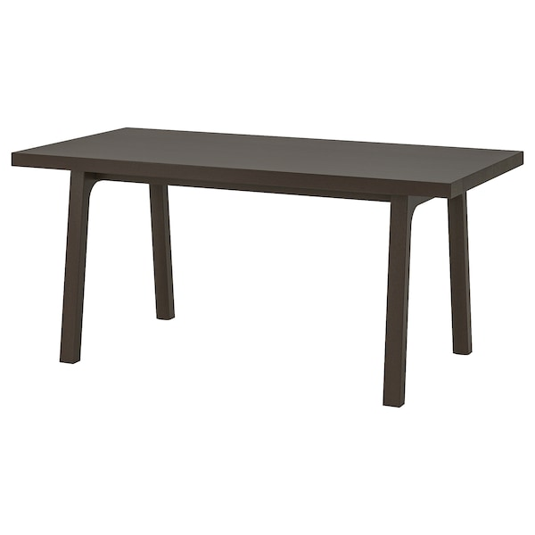 VÄSTANBY Table, dark brown/Västanå dark brown, 170x78 cm