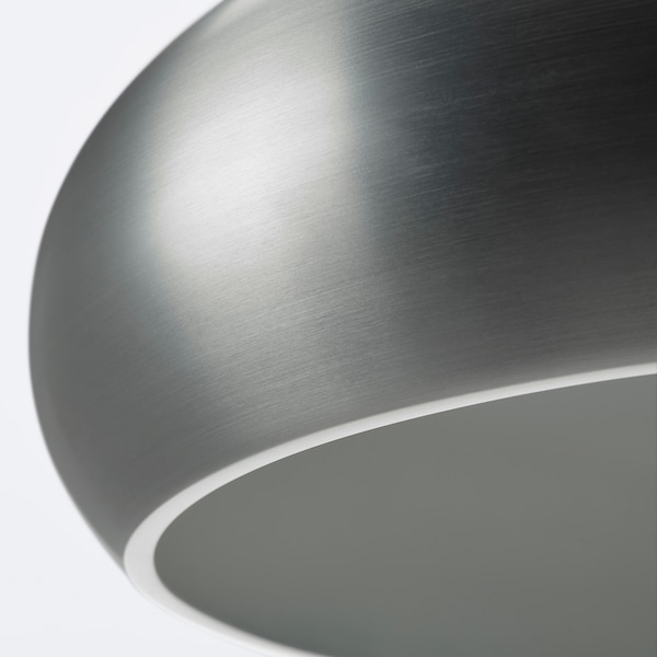 VÄXJÖ Pendant lamp, aluminium-colour, 38 cm