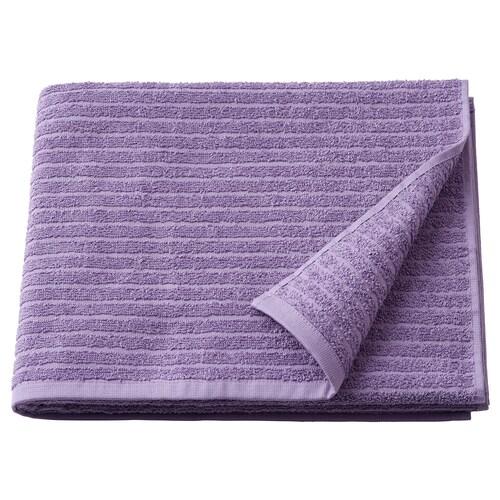 VÅGSJÖN bath towel purple 140 cm 70 cm 0.98 m² 400 g/m²