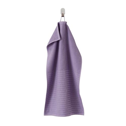 VÅGSJÖN hand towel purple 70 cm 40 cm 0.28 m² 400 g/m²