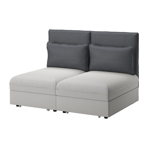 Vallentuna 2 seat sofa with bed ikea for Divano futon ikea