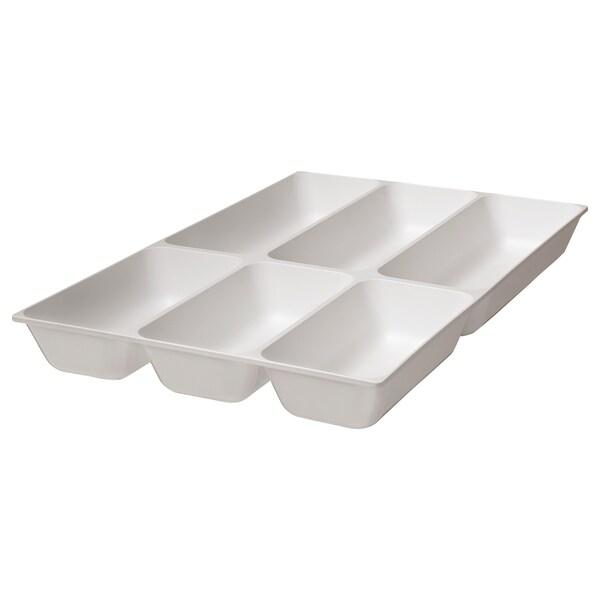 VARIERA صينية أدوات طعام, أبيض, 32x50 سم