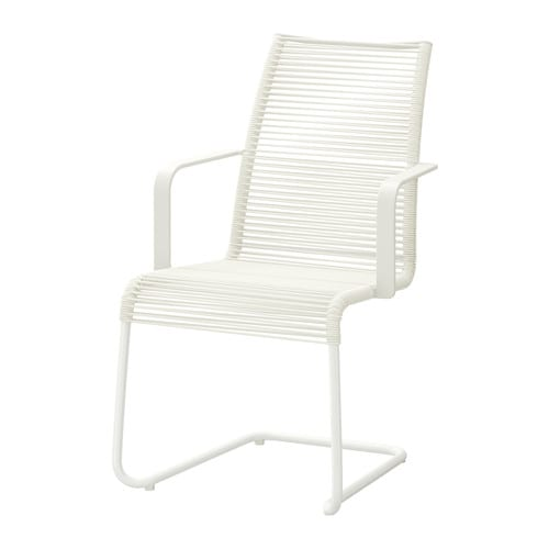 VÄSMAN Chair with armrests, outdoor IKEA The materials in this outdoor furniture require no maintenance.
