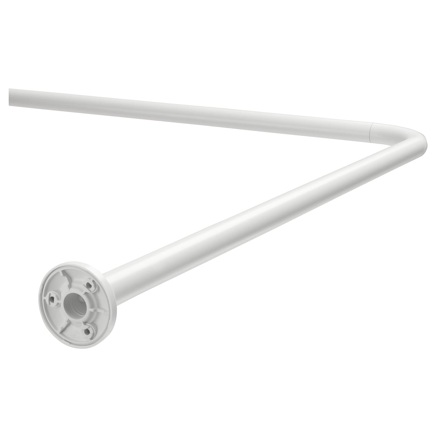 Shower Curtain Rod Vikarn White