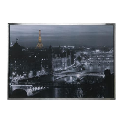 VILSHULT Picture IKEA Motif created by Jean-Marc Charles.  Mounted picture - ready to hang.