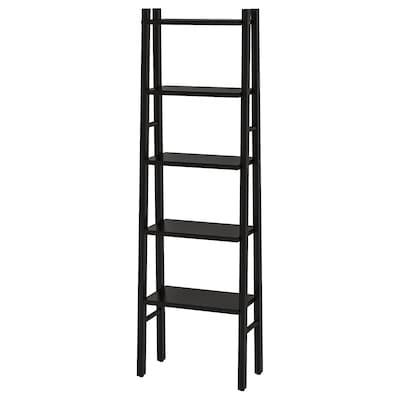 VILTO Shelving unit, black, 46x150 cm