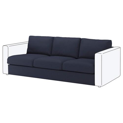 VIMLE 3-seat section Orrsta black-blue 80 cm 66 cm 211 cm 98 cm 4 cm 211 cm 55 cm 45 cm
