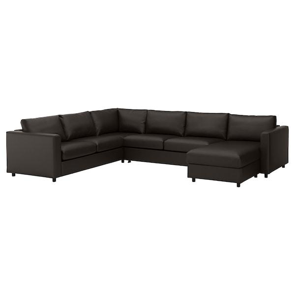 Vimle Corner Sofa Bed 5 Seat