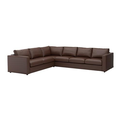 Ikea Corner Sofa Brown: VIMLE Corner Sofa, 5-seat