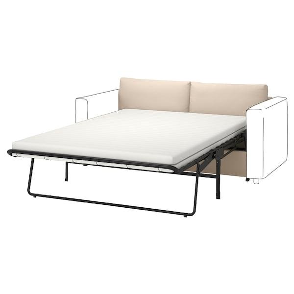 VIMLE غطاء قسم كنبة-سرير بمقعدين, Hallarp بيج