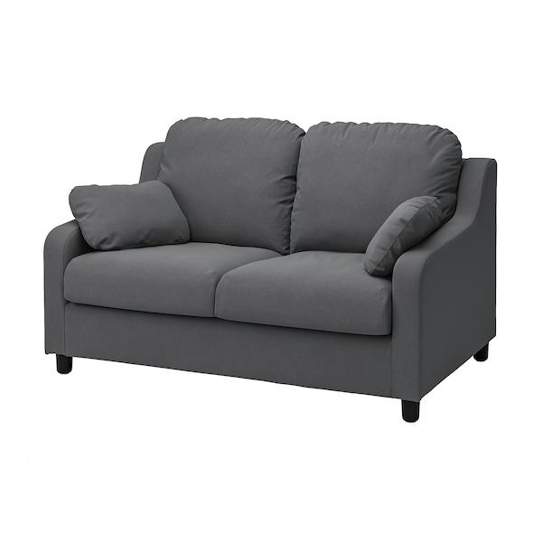 VINLIDEN 2-seat sofa, Hakebo dark grey