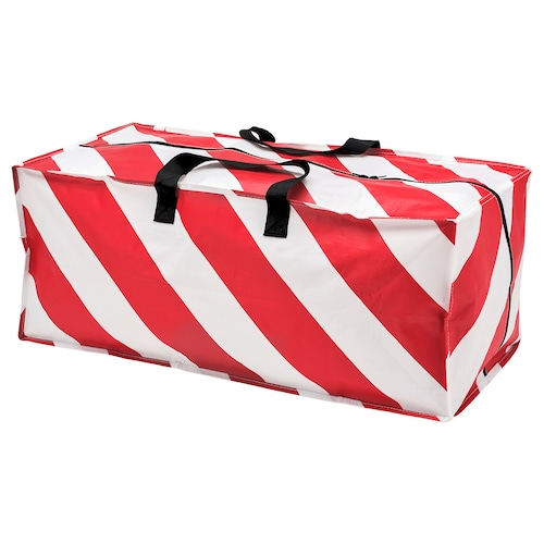 VINTER 2019 storage bag red/white striped 73 cm 35 cm 30 cm 76 l
