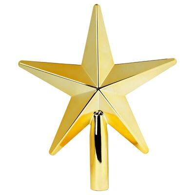 VINTER 2020 Top star, gold-colour, 24 cm