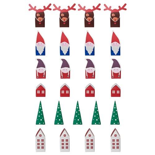 VINTERFEST Advent calendar, set of 25