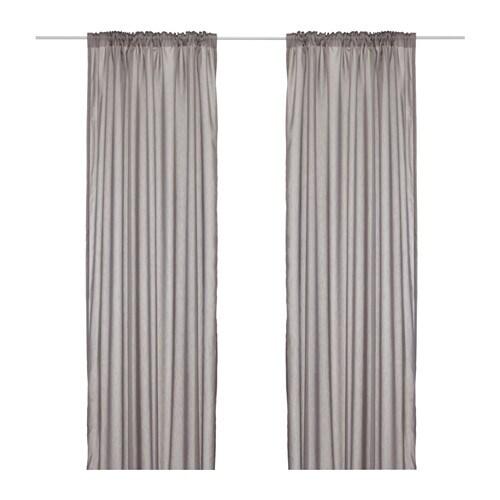 VIVAN Curtains, 1 pair, grey