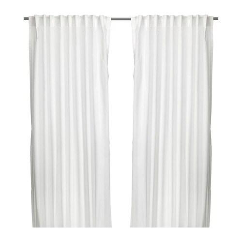 VIVAN Curtains, 1 pair, white