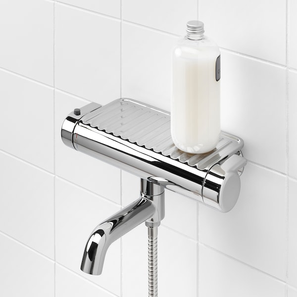 VOXNAN Thermostatic bath/shower mixer, chrome-plated, 150 mm