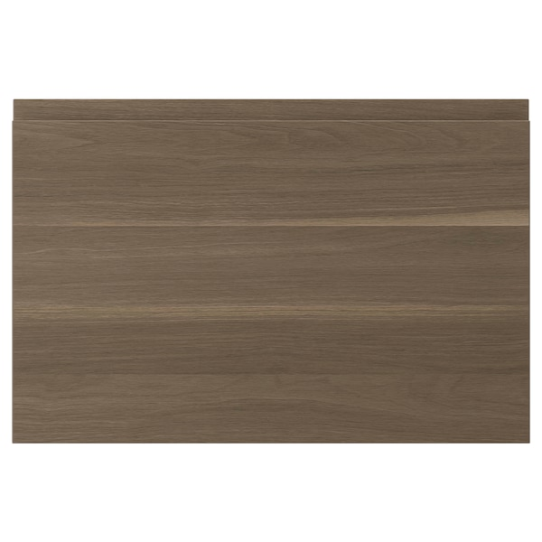 VOXTORP باب, شكل خشب الجوز, 60x40 سم