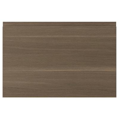VOXTORP Drawer front, walnut effect, 60x40 cm